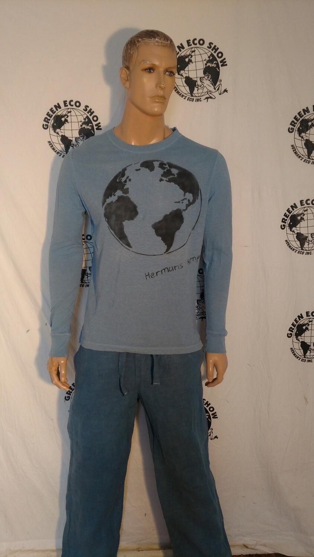 Hermans Hemp organic cotton World T shirt M