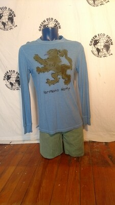 Hermans Hemp Griffen world t shirt M