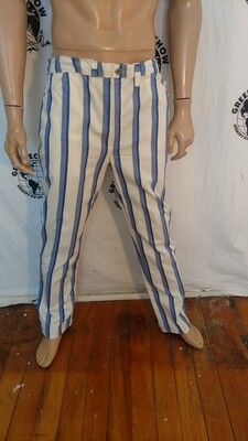 Mens striped jean 36 x 33 Hermans USA