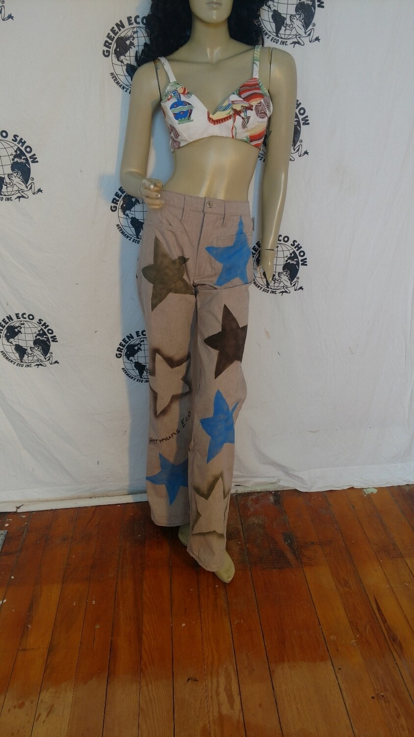 Walk of Fame Star pants S to M Hermans Eco USA