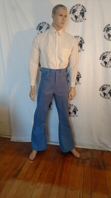 Organic cotton bells bottom Jeans 30 Hermans Eco USA