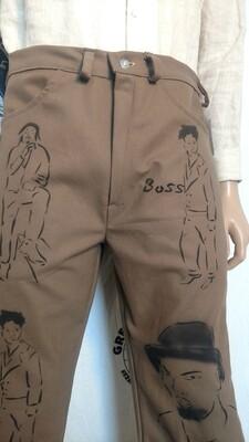 Mens Black man Jeans 34 x 31