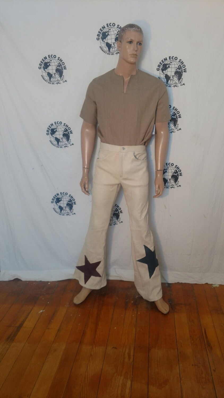 Buckskin bells pants jeans 31-32 x 34 Hermans USA