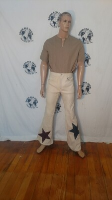 Buckskin bells pants jeans 31-32 x 34 Hermans USA