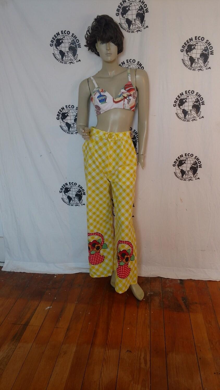 Womens wide leg high waisted pants 28 check