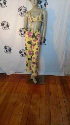 Womans Terry cloth wide leg pants M-L Hermans