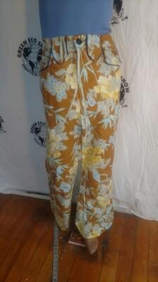 Mens cowboy pants Piped flowers 32 Hermans
