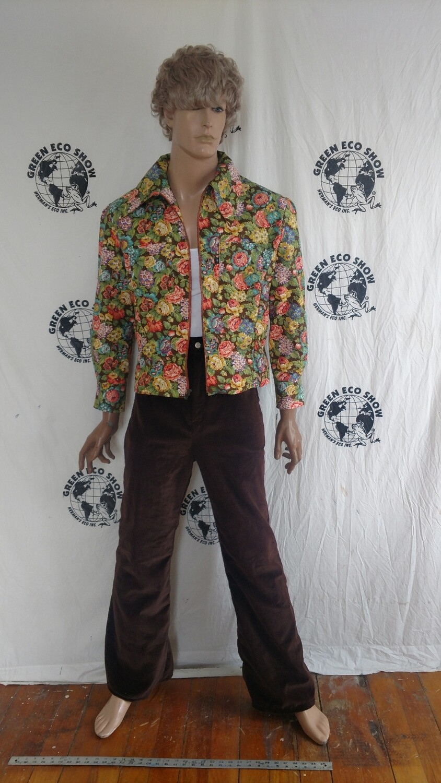 Mens matching pants shirt jack 42 pants  32 Hermans velvet