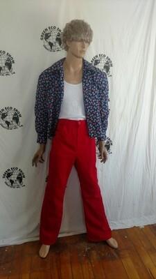 Mens matching set Shirt Jacket  sz 40 Pants 31