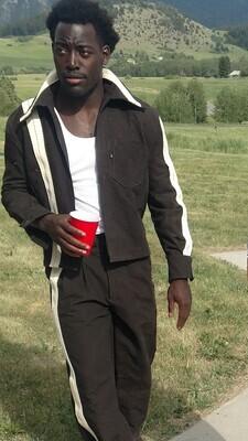 Highway Mens Suit matching pants shirt jack 42 pants  32 Hermans