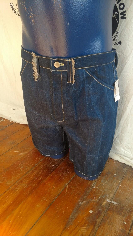 Hermans Hemp mens jean shorts 31 x 7