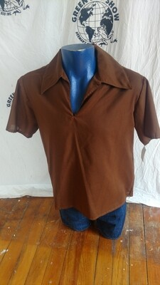 Pullover shirt big collar  Renaissance L