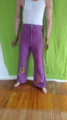 Mens highed waisted Bells 34 Hermans Eco tricked out