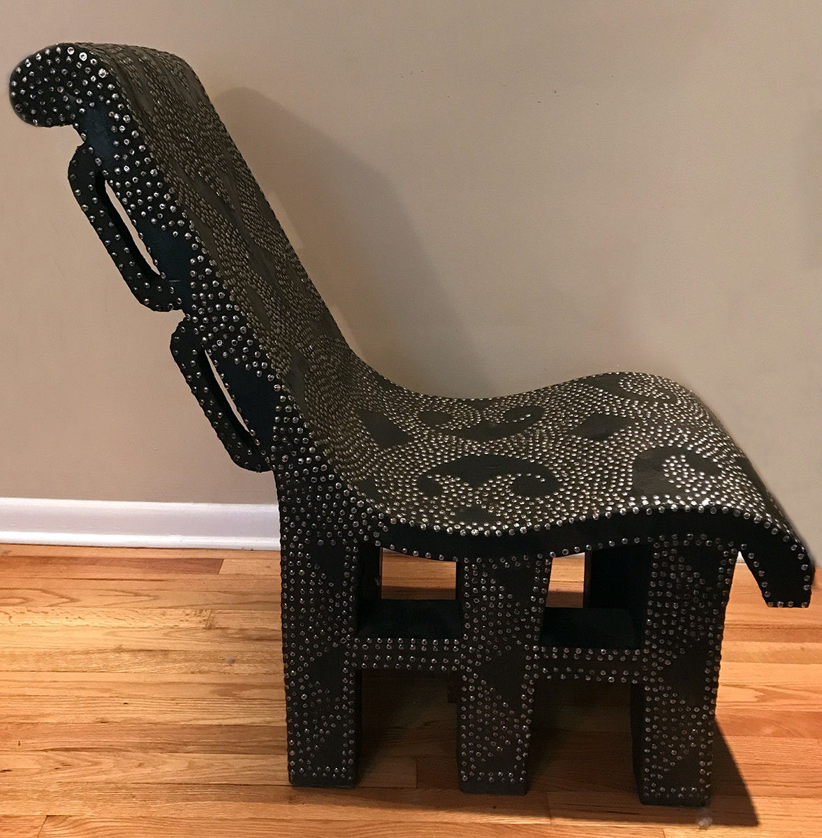 Ngombe Chair from the Congo