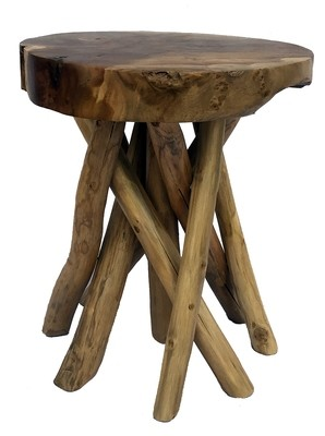 Balinese Wood Stool/Table