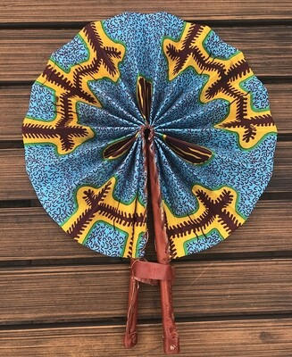 African Fan from Ghana 3