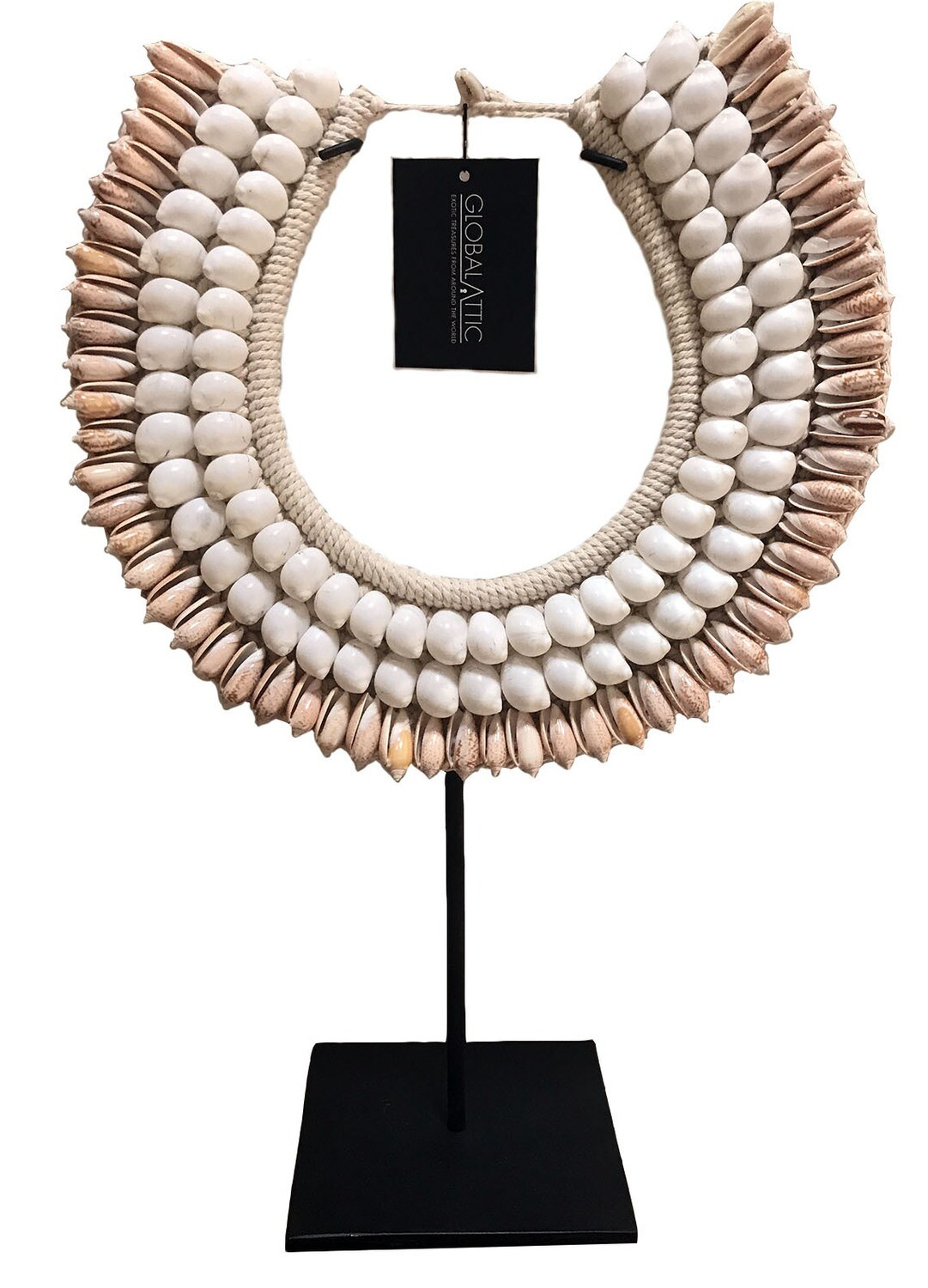 Pink Shell Necklace Decor