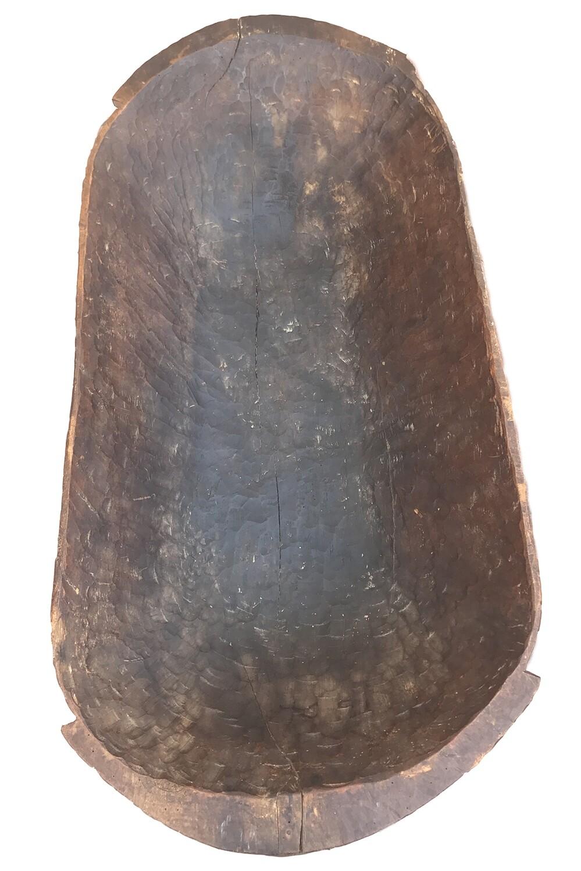 Oversized Primitive Bread Bowl