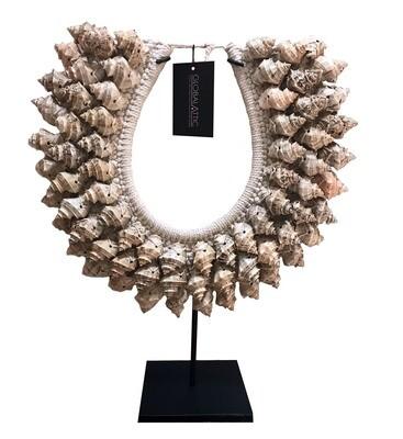 Tan Shell Necklace Decor