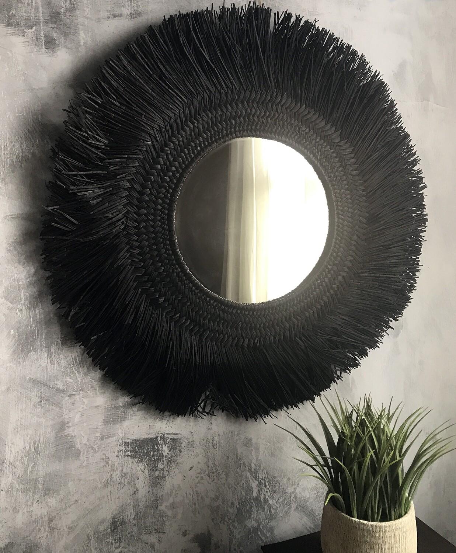Black Sea Grass Mirror