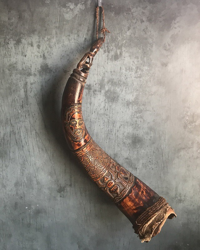 African Instrument from Bamileke Tribe of Cameroon