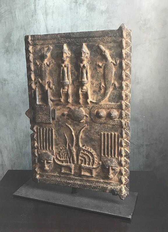 Dogon Metal Granary Door from Mali