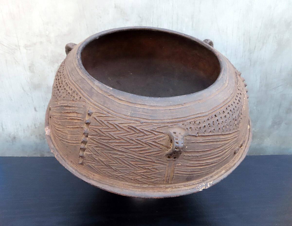 Nigerian Ceramic Pot
