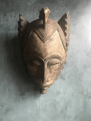 Vintage African Okuyi Helmet Mask