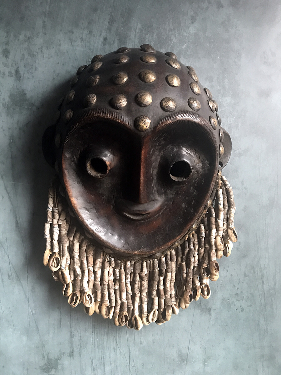 Kwese Mask from Congo