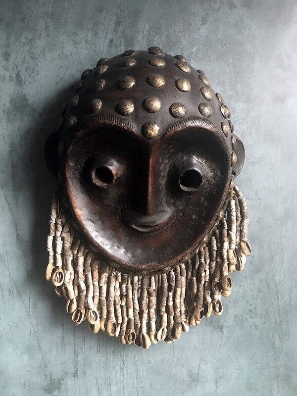 Kwese Mask from Congo