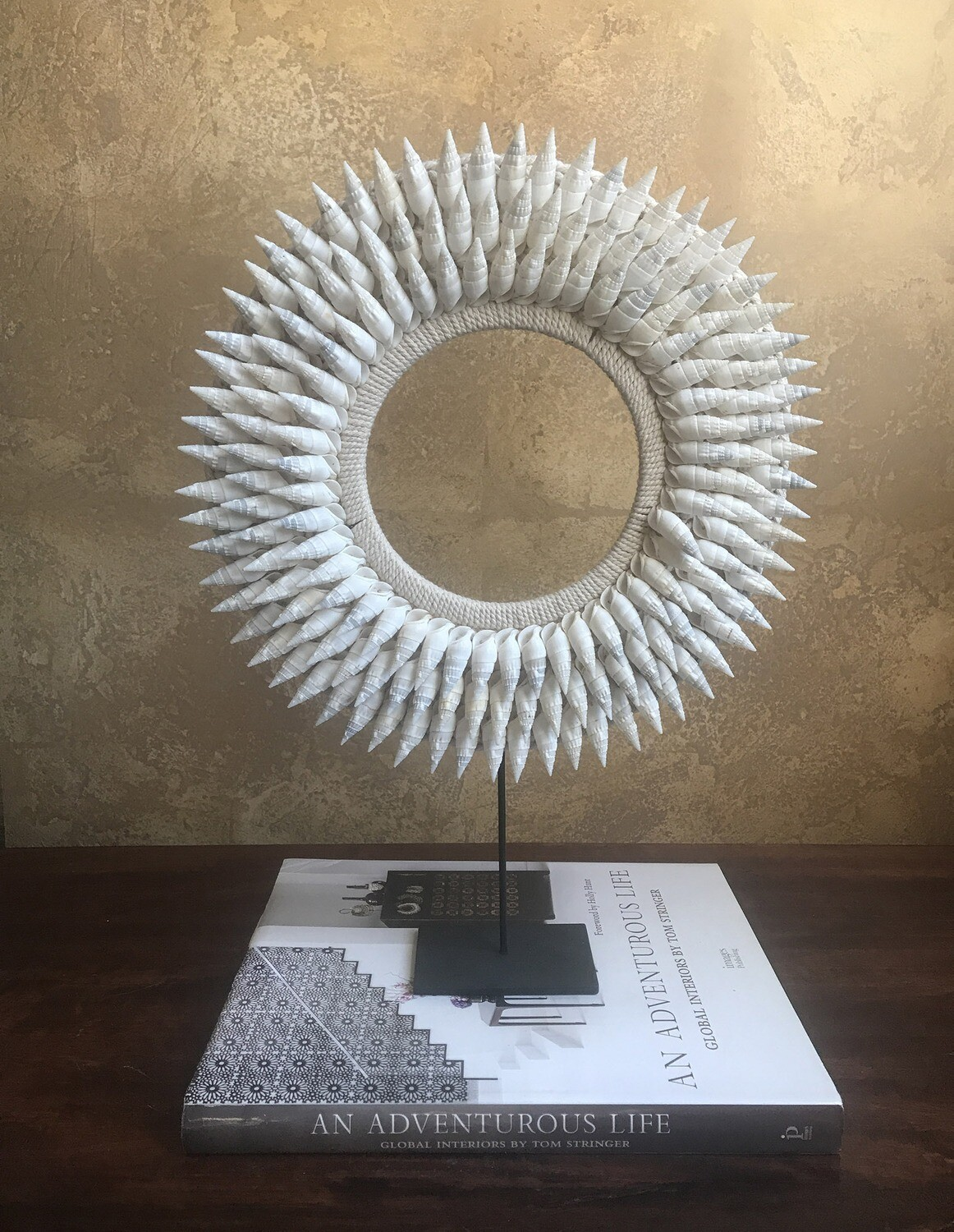 Spiked Shell Necklace Decor