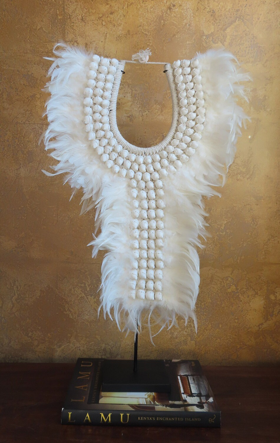 Tribal Necklace from Indonesia 2, WHT