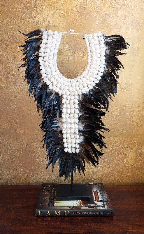 Tribal Necklace from Indonesia 2, BLK