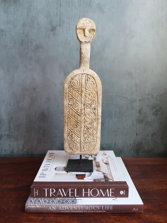 Kabiro Sculpture - Tan