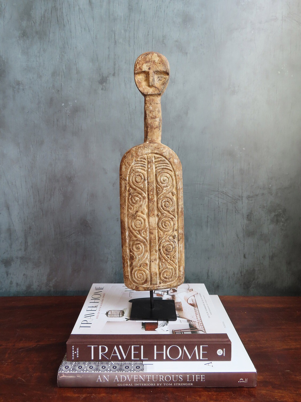 Kabiro Sculpture - Brown