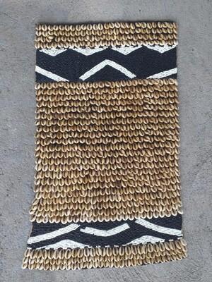 Cowrie Shell & Beaded Wall Decor