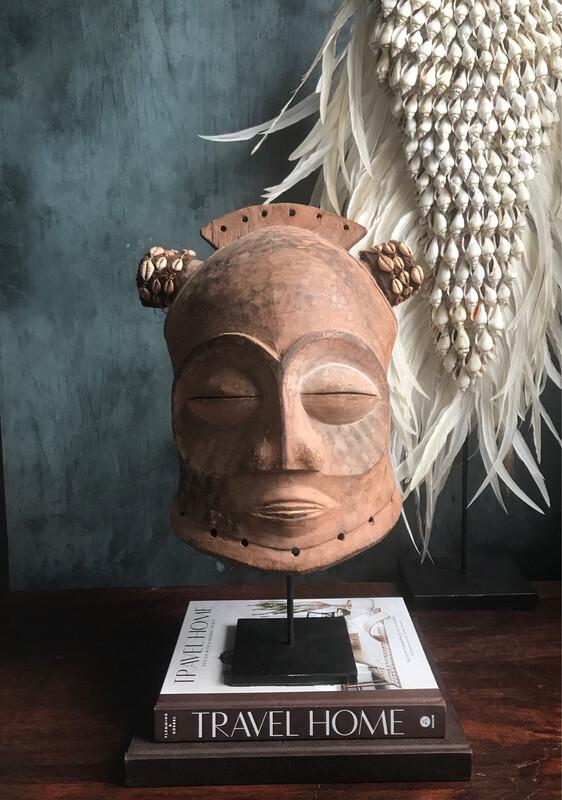 Bongo Helmet Mask from Congo
