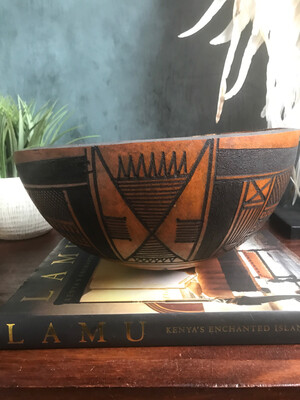African Gourd Bowl 1