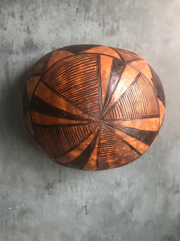African Gourd Bowl 2