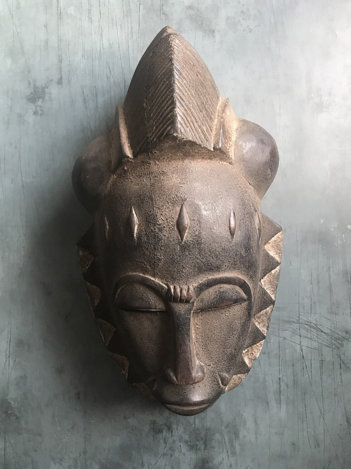 Mask from Cote d'Ivoire Africa