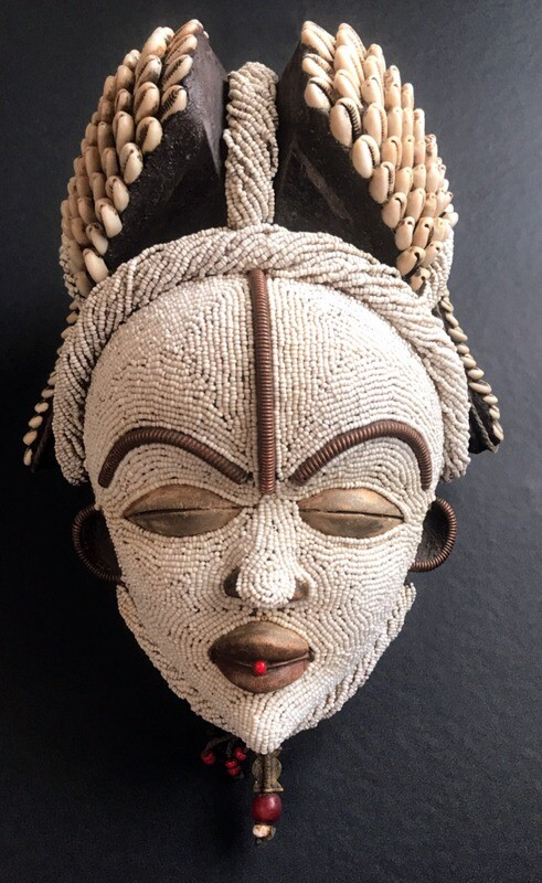 Mask from Cote d'Ivoire Africa 2