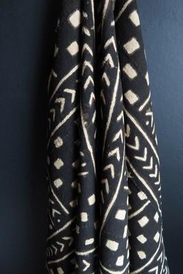 Vintage Mud Cloth Fabric 2