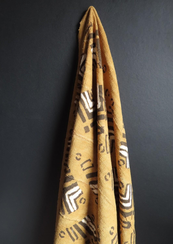 Vintage Mud Cloth Fabric 3