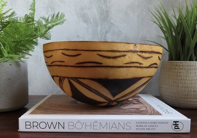 African Gourd Bowl 3