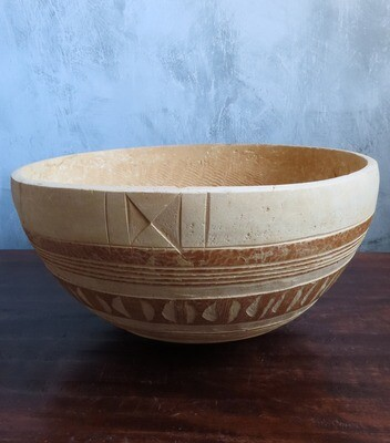 African Gourd Bowl 4