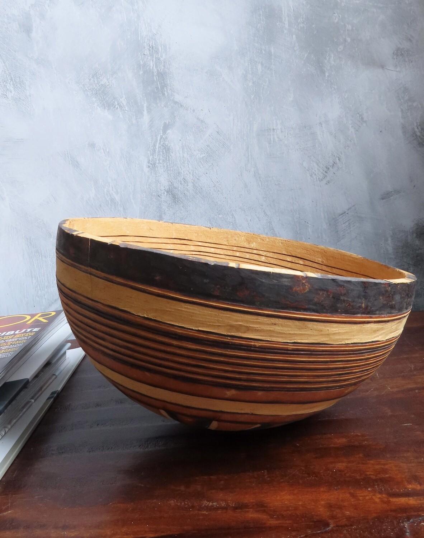 African Gourd Bowl 5