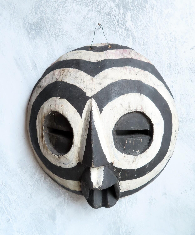 African Sun God Mask from Ghana