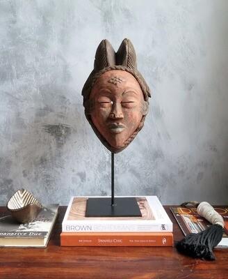 Punu Mask - Gabon (Red)