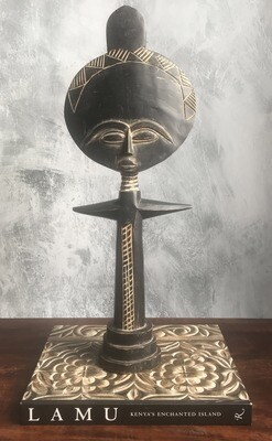Vintage Fertility Sculpture 2 from Ghana