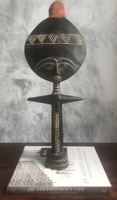 Vintage Fertility Sculpture 1 from Ghana